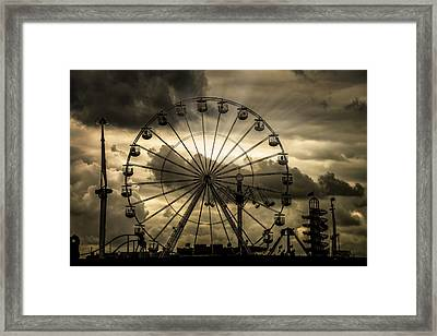 A Day At The Fair Framed Print by Chris Lord