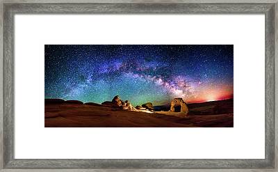 A Delicate Night Framed Print by Ryan Moyer