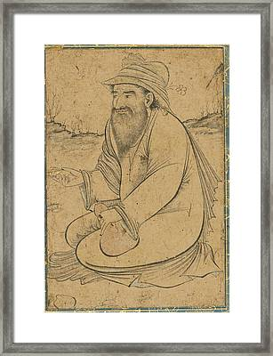 A Dervish Framed Print by Eastern Accents
