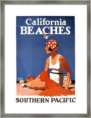 California Beaches Framed Print by Jon Neidert