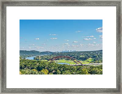 A Distance View  Framed Print by Tod and Cynthia Grubbs