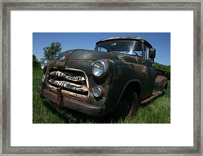 A Dodge Classic Framed Print by William Albanese Sr