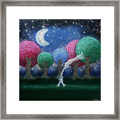 A Dream In The Forest Framed Print by Graciela Bello
