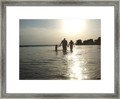 A Father's Love Framed Print by Ali Dover
