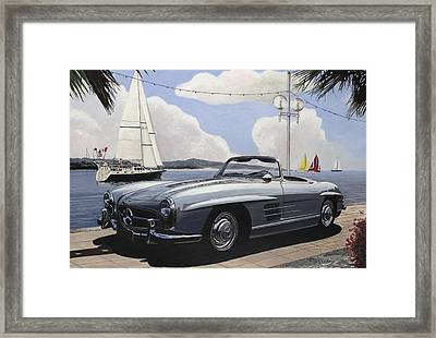 A Fine Day For Sailing Framed Print by Richard Herron