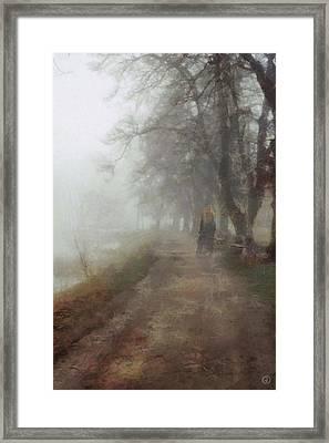 A Foggy Day Framed Print by Gun Legler