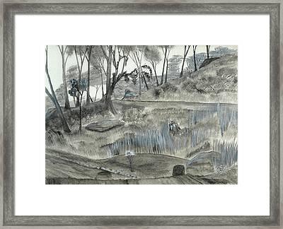 A Fond Memory... No. Two Framed Print by Robert Meszaros