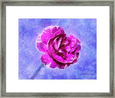 A Gift Of Hope Framed Print by Krissy Katsimbras
