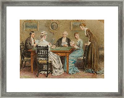 A Good Hand Framed Print by George Goodwin