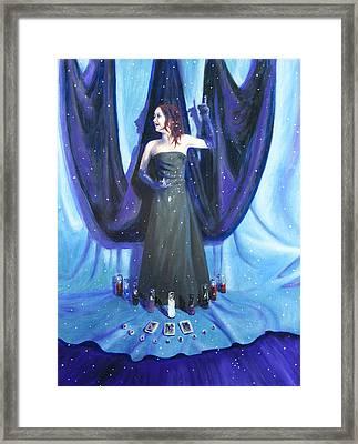 A Ha Framed Print by Shelley Irish