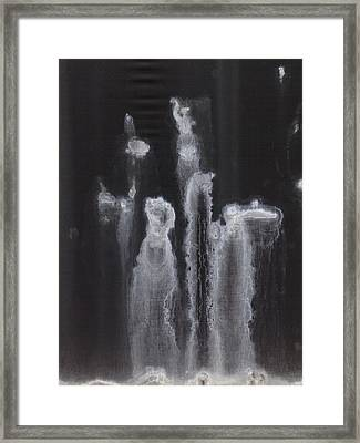 A Hard Water's Gonna Spray #2 Framed Print by Stan  Magnan