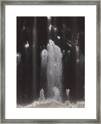 A Hard Water's Gonna Spray #3 Framed Print by Stan  Magnan