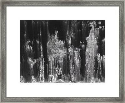 A Hard Water's Gonna Spray #4 Framed Print by Stan  Magnan