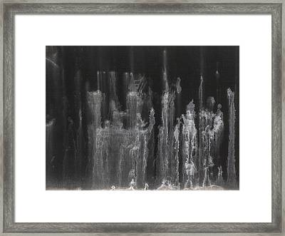 A Hard Water's Gonna Spray #5 Framed Print by Stan  Magnan