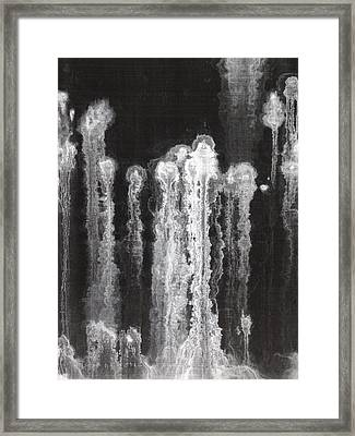 A Hard Water's Gonna Spray #6 Framed Print by Stan  Magnan