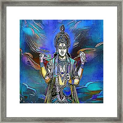 A Hindu Temple At The Batu Caves In Kuala Lumpur - My Www Vikinek-art.com Framed Print by Viktor Lebeda