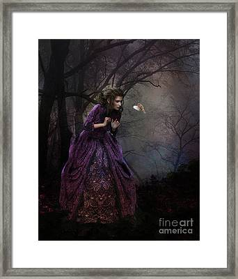 A Little Bird Told Me Framed Print by Shanina Conway