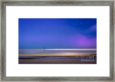 A Little Blush In The Sky Framed Print by Marvin Spates