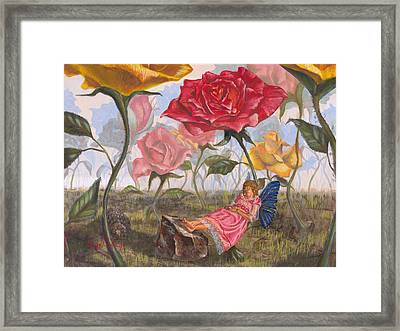 A Little Nap Framed Print by Jeff Brimley