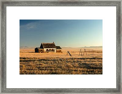 A Long, Long Time Ago Framed Print by Todd Klassy