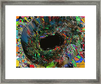 A Look Inside The Soul Framed Print by Ricardo Mester