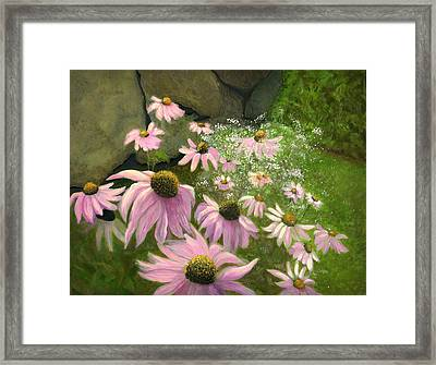 A Lovely Garden Framed Print by Karyn Robinson