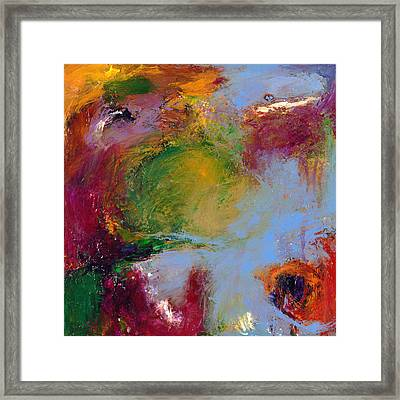 A Moment Captured Framed Print by Johnathan Harris