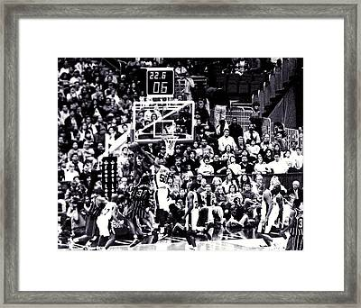 A Moment In History 1999 Framed Print by Diana Gonzalez