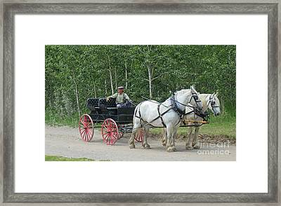 A Moment In Time Framed Print by John Malone