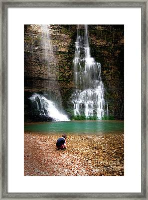 A Moment In Time Framed Print by Tamyra Ayles
