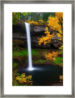 A Moment Of Silence Framed Print by Darren  White