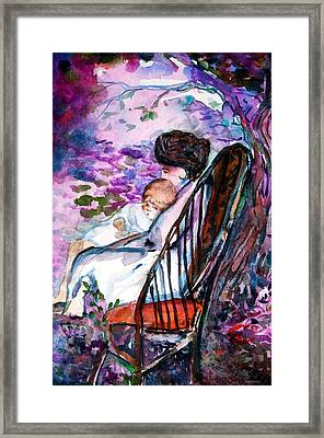A Mothers Love Framed Print by Mindy Newman