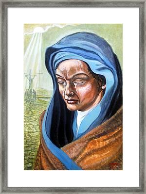 A  Mothers  Tears Framed Print by James Richardson