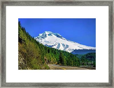 A Mountain Called Hood Framed Print by Jon Burch Photography