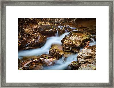 A Mountain Stream  Framed Print by Saija Lehtonen