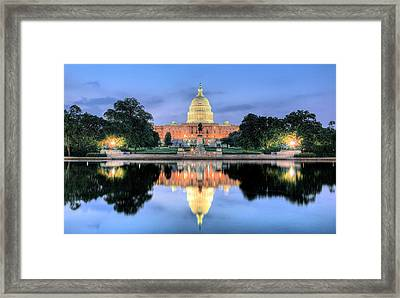 A Nation Awakens Framed Print by JC Findley