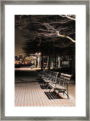 A Night In Hoboken Framed Print by JC Findley