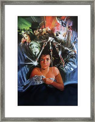 A Nightmare On Elm Street 1984 Framed Print by Caio Caldas