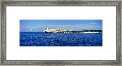 A Panoramic View Of Castillo Del Morro Framed Print by Panoramic Images