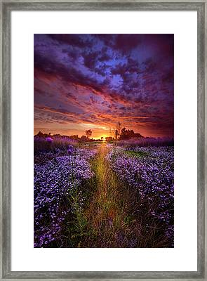 A Peaceful Proposition Framed Print by Phil Koch