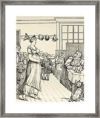 A Penny  Slap Bang  Shop, After Thomas Framed Print by Vintage Design Pics