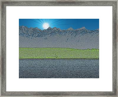 A Perfect Ending Framed Print by Tim Allen