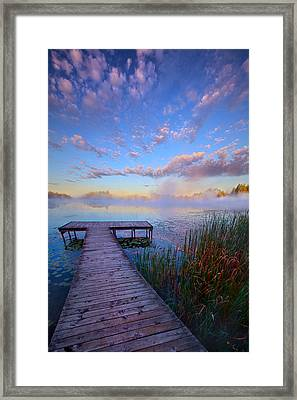 A Place Of Quiet Reflection Framed Print by Phil Koch