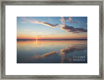 A Place Of Reflection Framed Print by Tim Gainey