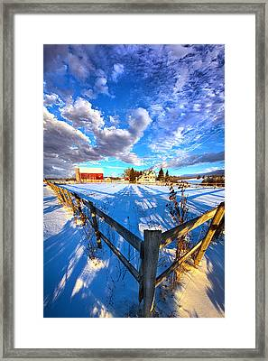 A Place To Call Home Framed Print by Phil Koch