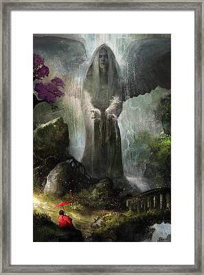 A Place To Ponder Framed Print by Steve Goad