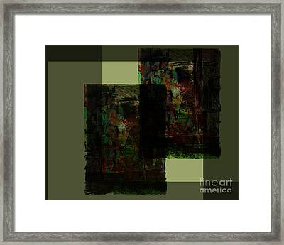 A Place Where We Talk Framed Print by James Thomas