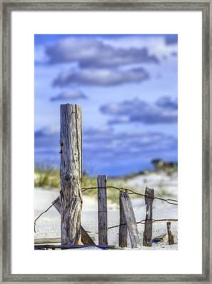 A Posting From Panama City Beach Framed Print by JC Findley