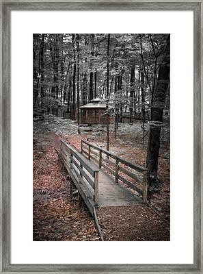 A Quiet Place Framed Print by Tom Mc Nemar