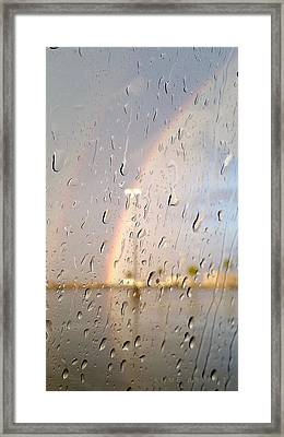 A Rainbow In My World #2 Framed Print by Kume Bryant